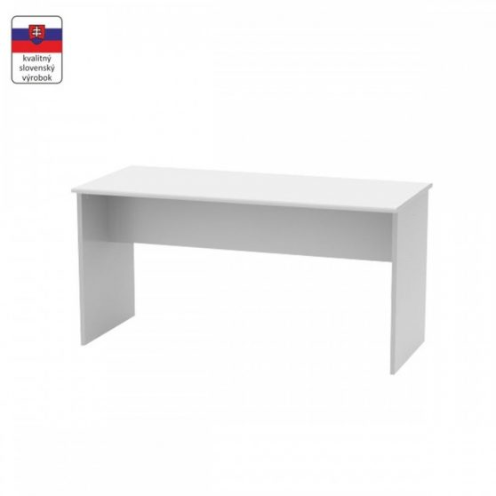 JOHAN 08 Kétoldalas íróasztal, fehér