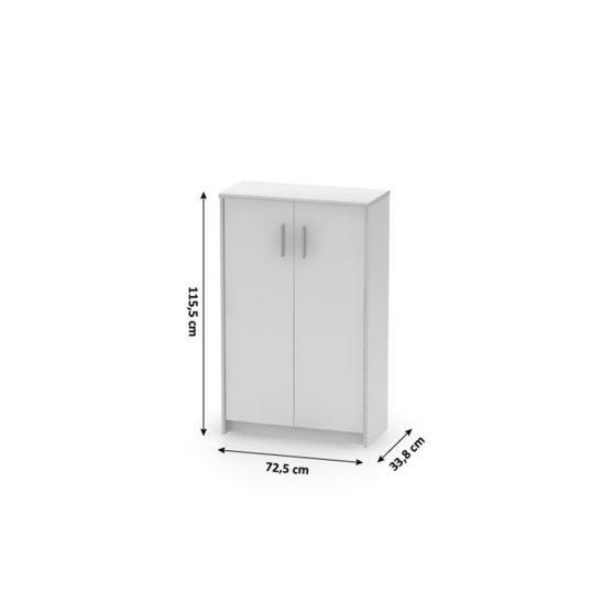 JOHAN 13 szekrény, fehér