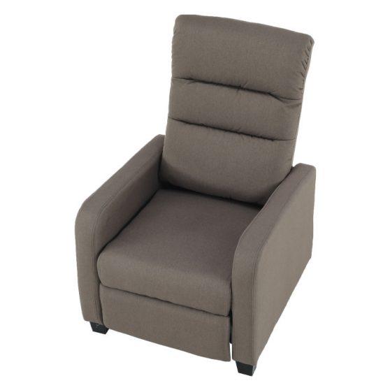 Relaxáló fotel, barna, TURNER