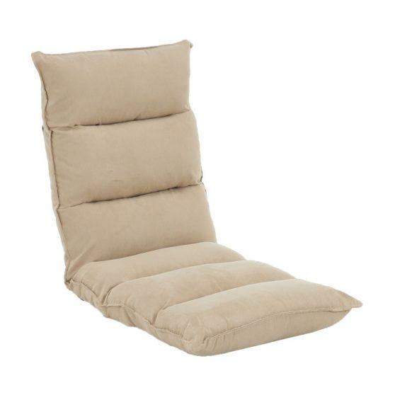 Relaxáló fotel, szövet camel-barna, LOTA NEW