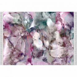 Szőnyeg, rózsaszín-zöld-bézs-minta, 120x180, DELILA