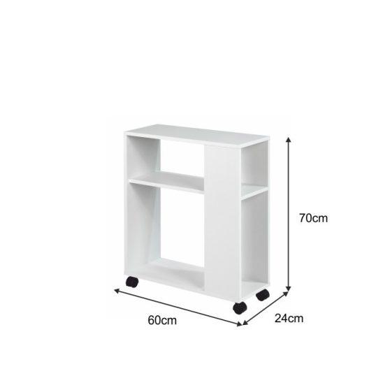 ZOELA NEW kisasztal, fehér