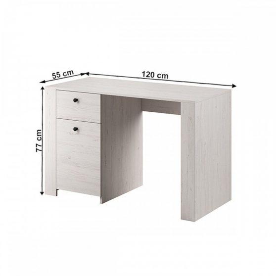 VINCE PC asztal, sosna andersen