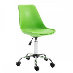 DARISA Irodai szék, zöld-sötétszürke