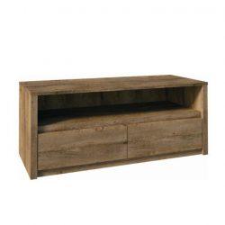 MONTANA TV asztal / szekrényke, tölgyfa lefkas