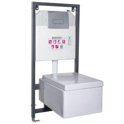 THOR16-SET falba építhető WC tartály szettben THOR 16 wc-vel