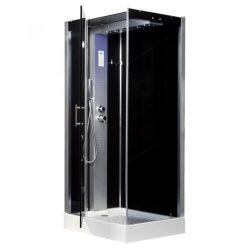 Twin szögletes hidromasszázs zuhanykabin