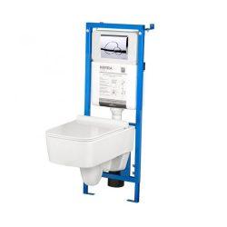 VANESSA-SET falba építhető WC tartály szettben Vanessa wc-vel