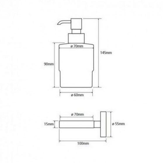OMEGA szappanadagoló, mini, 150 ml